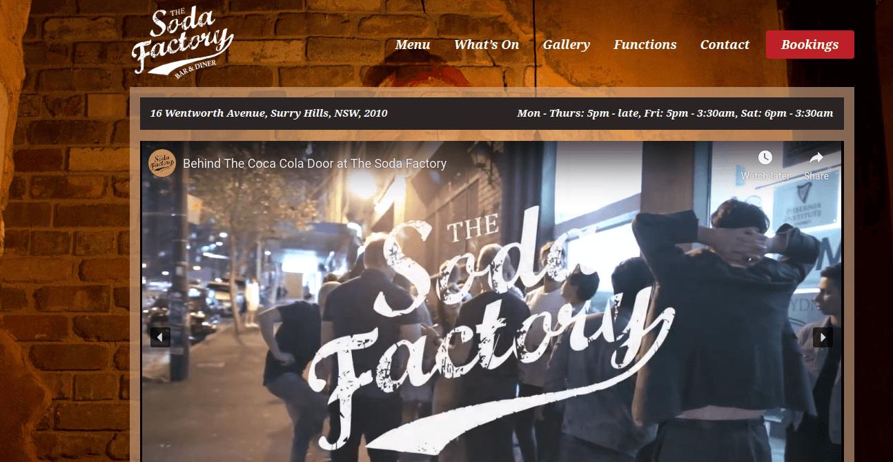 Soda Factory screenshot